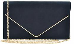 Dasein Women#x27;s Evening Clutch Bags Formal Party Clutches Wedding Purses Cocktail $27.98