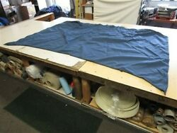 Tracker Fishin Barge Bow Canopy Cover 21 57 X 101 1/2 Blue 2007 Marine Boat