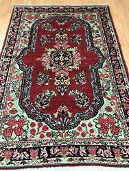 4and0396 X 6and0399 Antique Turkish Oriental Rug - 1930s - Hand Made 100 Wool