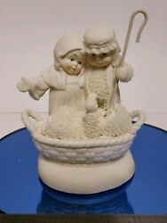 Department 56 Snowbabies Unto Us A Child Is Born In Box Ultra Rare