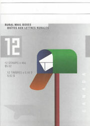 2000 Rural Mailboxes Booklet Of 12 X .46andcent Bk226 Sc 1852b Mnh