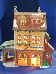 Department 56 Village 'hather Harness' Dickens Dept Christmas 58238