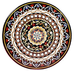 48 Marble Coffee Table Top Inlay Handicraft Work For Home And Garden