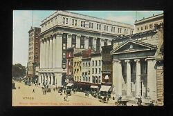 1912 Broad Street North From Market Antique Cars Wagons Stores Newark Nj Essex C