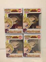 Funko Pop All Might Weakend 648 Gitd My Hero Academia Boxlunch Sold Out Mint