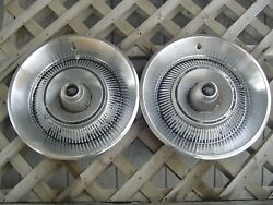 1967 1968 Dodge Chrysler Plymouth 14 In. Hubcaps Wheel Cover Center Cap Antique