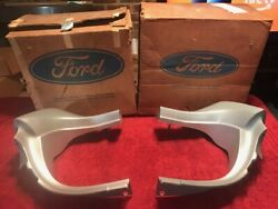 Nos Pair 70/71 Torino Front Fender Extensions