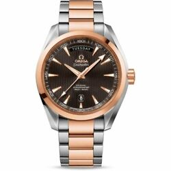Omega 231.20.42.22.06.001 Seamaster Men's 18kt Gold Stainless Steel Watch