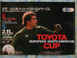 Nottingham Forest V Nacional 1980 Fifa Toyota Club World Cup Poster