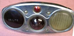 Brown Tail Lamp Late 20s - Early 30s Era - 4 Lens