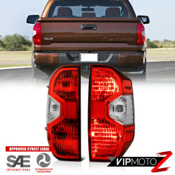 Factory Style Red Tail Lamps Lights For 14-21 Toyota Tundra Truck Limited Trd