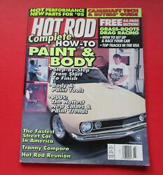 HOT ROD MAGAZINE MARCH1995...HOW-TO BODY & PAINT...DRAG RACING GRASS-ROOTS