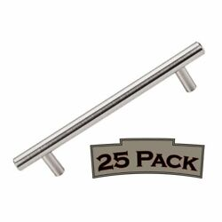 Top Knobs 25 Pack Brushed Satin Nickel M430 Hopewell 7 Inch Bar Pull