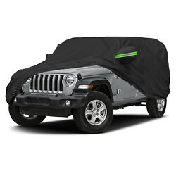 420d Oxford Car Cover Outdoor Waterproof Dust Suv Protection For Jeep Wrangler