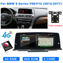 Android Car Stereo Gps Navigation Screen Wifi For Bmw 6 Series F06 F12 2012-2017