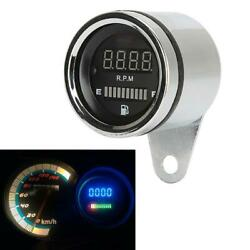 Black Rpm Motorcycle Tachometer Fit For Yamaha V-star 1100 1300 Classic Stryker