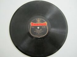 78 RPM Emerson 1034 Emerson Military Band quot;Tell Mequot; quot;Mammy O#x27;Minequot; 1918