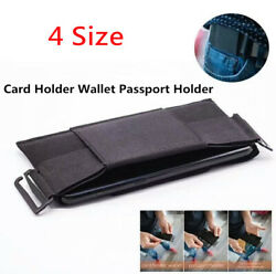 Portable Pouch Card Storage Bag Minimalist Invisible Wallet Organizer Holder usa