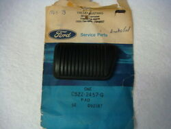 Nos 65 - 73 Shelby Ford Mustang Brake Pedal Pad Drum Manual Trans C5zz-2457-g