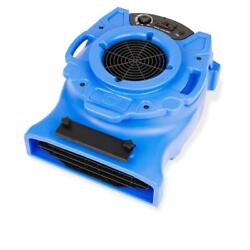 B Air Air Mover Blower Fan Floor Carpet Dryer Drying 1/4 Hp Low Profile Blue New