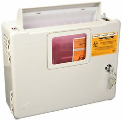 Sharpsafety In-room Wall Enclosure, Sharps Box Only Wall Mount -1 Count