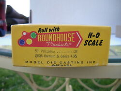 Roundhouse 50' Pullman Combination Barnum And Bailey 5036 Item 2