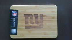 Picnic Time Cutting/ Serving Organic Bamboo Board. Official Nfl Ny Giants
