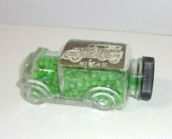 Old Glass Car Automobile Candy Treats Container Fresh Pak Candy Co.