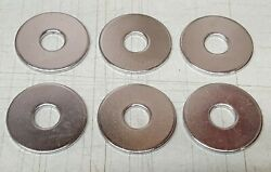 Lot Of 6 Oem Yamaha Outboard Control Washers 90201-08m23 New