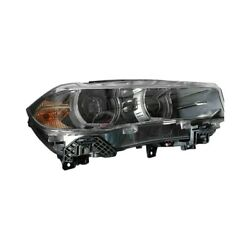 Bm2519149 New Right Side Hid Headlight Lens And Housing Fits 2015-2019 Bmw X6