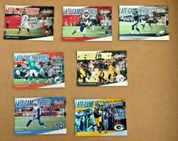 2018 Panini Absolute Late Game Heroics Lgh Parallel Nfl Insert Card You Pick