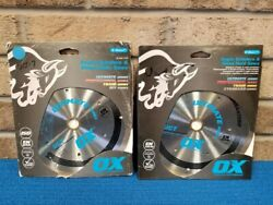 Ox Tools Ultimate Uct 7 Porcelain/ceramic/marble Diamond Blade - 2 Pack