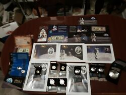 2019 Apollo 11 50th Anniversary Coin And Print Us Mint Set. Very Low Mintages