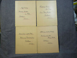 4 Antique Photogravures Of Portland Maine Waterfront By Charles E Bolles 1890