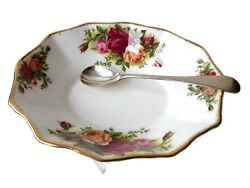 Royal Albert Old Country Roses Butter Dish / Soap Dish