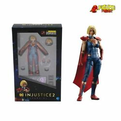 Hiya Toys Dc Comics Injustice 2 Supergirl 3.75 Action Figure 118 Scale
