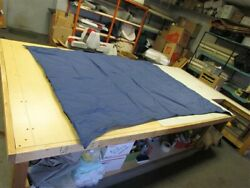 Tracker Party Barge 20 15-18 Bow Canopy Bimini Top Blue 45259-27 Boat