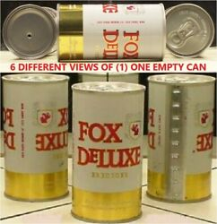 Fox Deluxe Beer Air Filled Straight Steel Can Cold Spring Brewing Minnesota 78