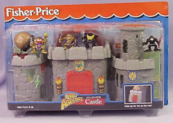 New Vintage 1998 Fisher Price Great Adventures All-in-one Castle 🏰