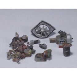 Woodland Scenics D225 Ho-scale Metal Kit Industrial Junk, For Alleys,vacant Lots