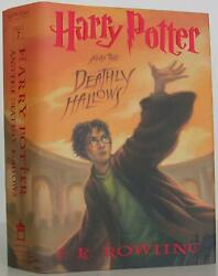 J K Rowling / Harry Potter And The Deathly Hallows Signed 2007 107194