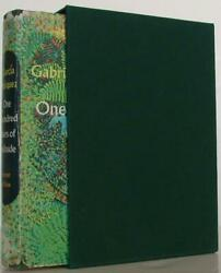 Gabriel Garcia Marquez / One Hundred Years Of Solitude First Edition 108196