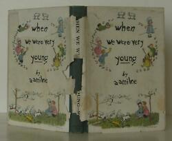 A A Milne / When We Were Very Young First Edition 1924 110067