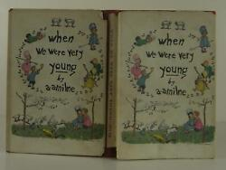 A A Milne / When We Were Very Young First Edition 1924 1401057