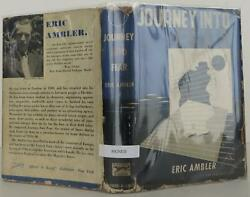 Eric Ambler / Journey Into Fear Signed 1st Edition 1940 1502500