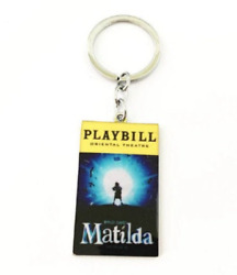 Matilda Playbill Broadway Musical Charm Pendant Keychain Ornament Or Necklace