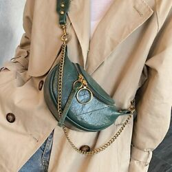 Fashion Synthetic Leather Cross Body Bags For Women Chain Small Shoulder Travel $18.34