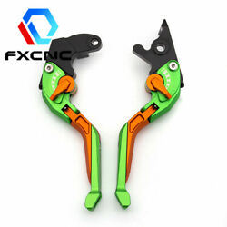 Motorcycle 3d Fold Extend Rhombus Hollow Brake Clutch Levers Set For Ducati