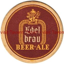 1940s New York City Edel Brau Beer And Ale 4¼ Tavern Trove