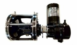 Fish Winchandreg 2.0 - Electric Fishing Reel Motor Only - Fits Penn 114 And 6/0 Black